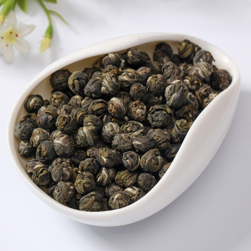 2018 Fresh Natural Organic China Jasmine Dragon Pearl Green Tea Slimming Flower Kung Fu Tea