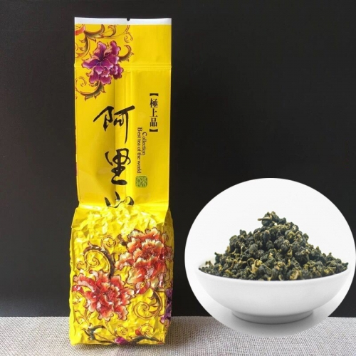 2020 China Taiwan Alishan High Moutains oolong tea Organic Green Food for Beauty Weight Loss slimming tea