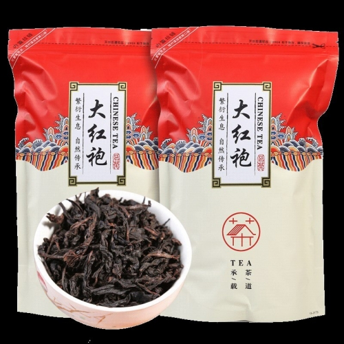 China Dahongpao Big Red Robe Oolong Tea the original Green food Wuyi Rougui Tea For Health Care Lose Weight