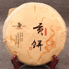 357g China Yunnan Ripe Tea Menghai Old Tree Tea Puer Puerh  Tea Traditional Manual Puer Puerh  Pure Material Green Food